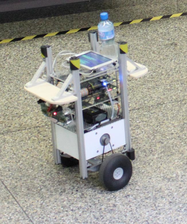 RIM-II. Two wheeled servant.